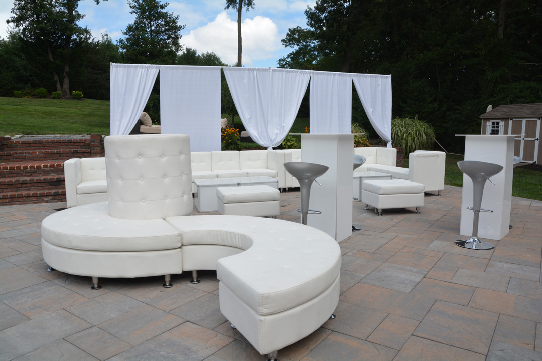 Our rental lounge furniture also includes assistance on a furniture layout  plan for the venue of the event. Contact one of our representatives today  to get ... - Lounge Furniture Rental Long Island - DJ Long Island NYC